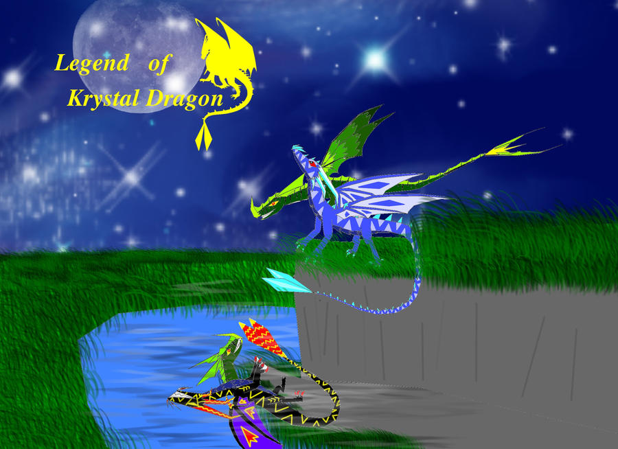 legend of krystal dragon Cover by krystaldragon96 on ... F(x) Krystal And G Dragon