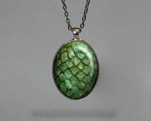 Dragon Egg Green by wizardcopy