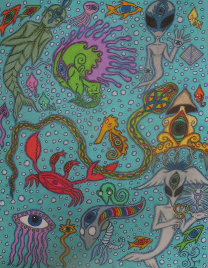 Scorpiotic Sea by RevolutionaryPeace