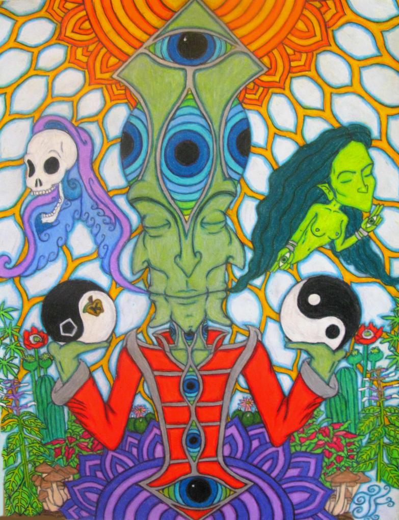 Garden of Entheogenic Delights by RevolutionaryPeace