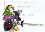 Link and Meta Knight