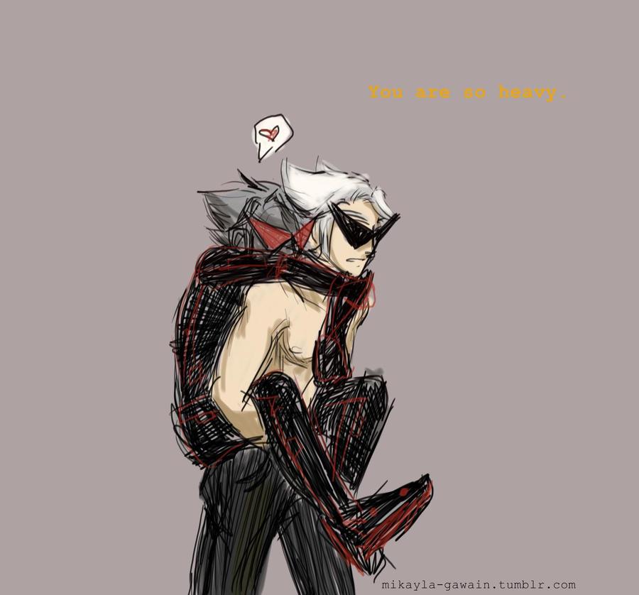 piggyback robot by dudeimmikayla