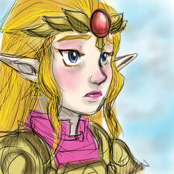 prinsketch of hyrule by dudeimmikayla