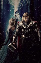 Unconditional - Thor/Elsa by LaChicaRara