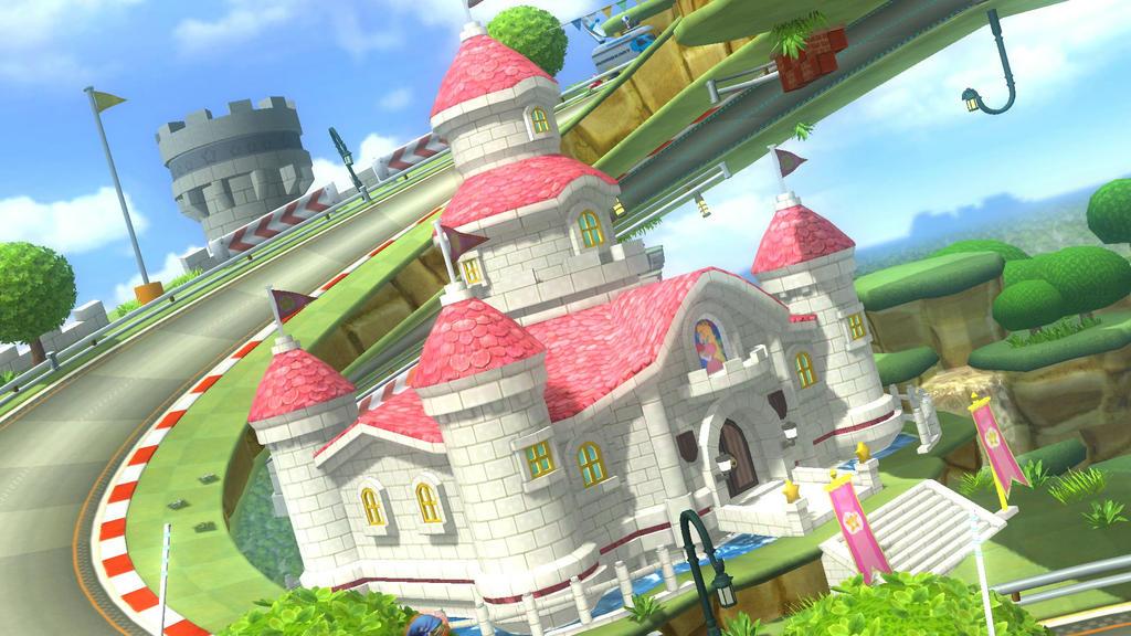 Peach Castle(wii u by
