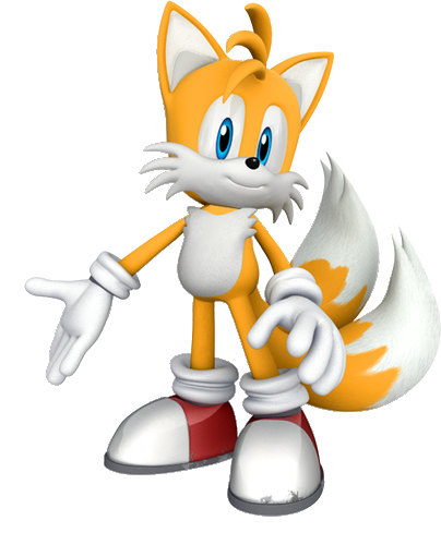 Official Tails Render 2011(without Shadow) By Banjo2015 On