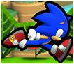 Sonic running (Sprite) by Banjo2015