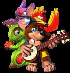 Banjo-Kazooie and Yooka-Laylee