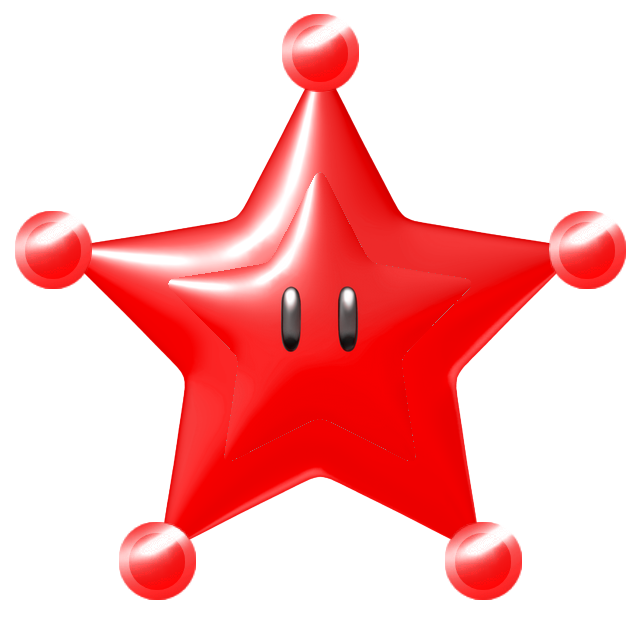red mario galaxy stars - photo #7