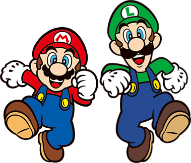 Mario and Luigi 2D render by Banjo2015