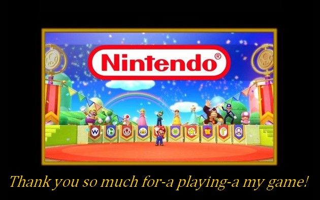 Thank You So Much For A Playing A My Game By Banjo2015 On Deviantart