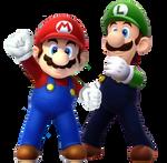 Mario and Luigi (Sotchi 2014)