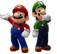 Mario Brothers (Sotchi 2014) by Banjo2015