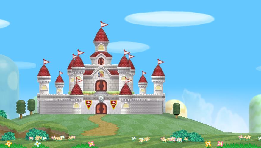 Peach S Castle New Outside By Banjo2015 On Deviantart