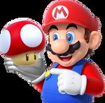 Mario with Super Mushroom