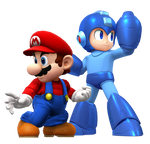 Mario and Megaman