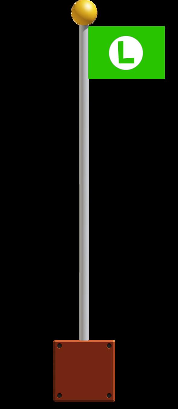 Luigi 39 s flag by banjo2015 on deviantart