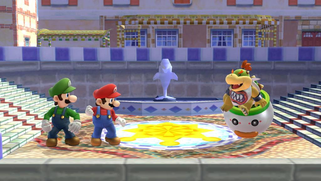 Mario Vs. Bowser Jr.