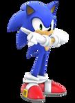 Sonic Adventure render (Wii U)