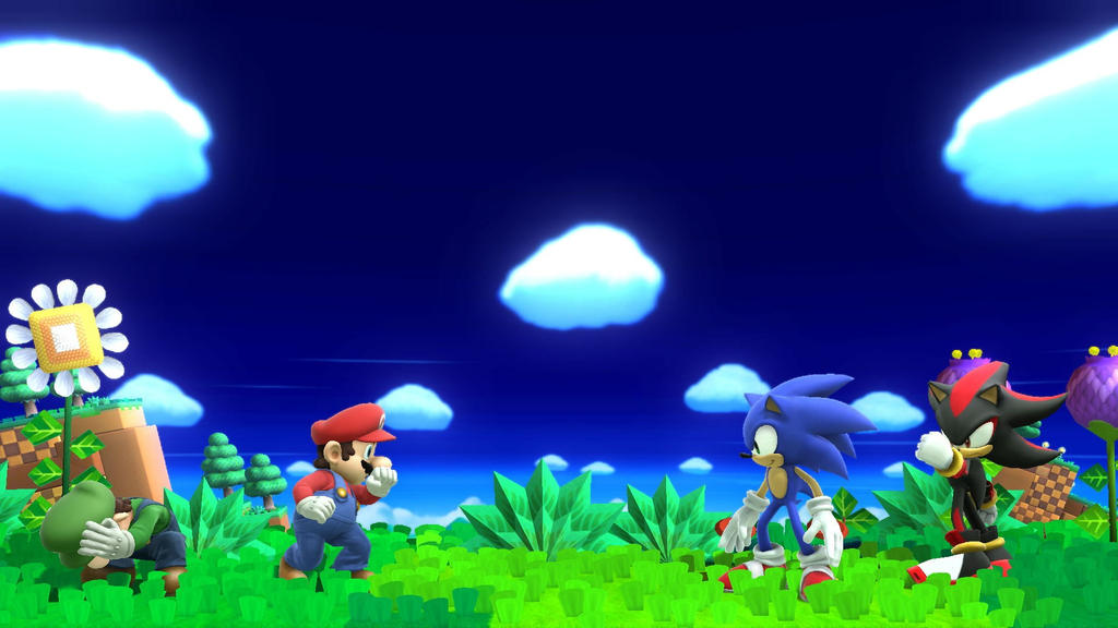 Mario and Luigi VS Sonic and Shadow - 81.5KB
