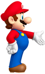 Mario presenting