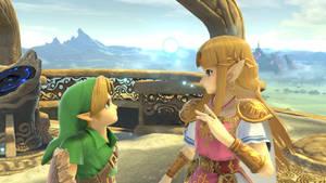 Young Link and Zelda (ALBW)
