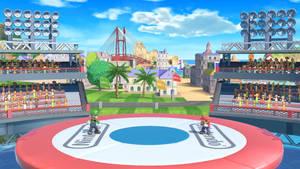 Mario vs Luigi in Wuhu Island