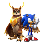 Modern Sonic and Longclaw