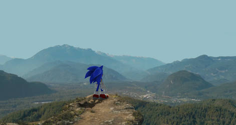 Modern Sonic in Green Hills movie