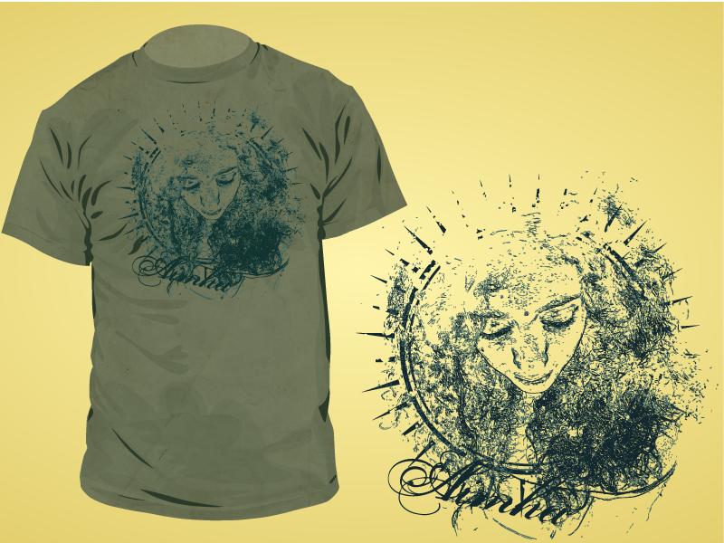 T-shirt design by AimhaDesign