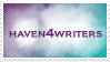 Haven4Writers Stamp by FlyyPhoenix