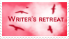 Writer's Retreat Stamp by FlyyPhoenix