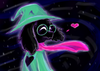 Ralsei by LaurenDraws01