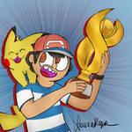 Ash Wins