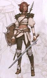 Warrior by MitchellMohrhauser