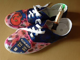 Doctor Who Shoes by NostalgicPop