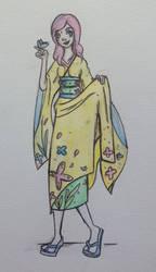 Fluttershy's Yakata by NostalgicPop