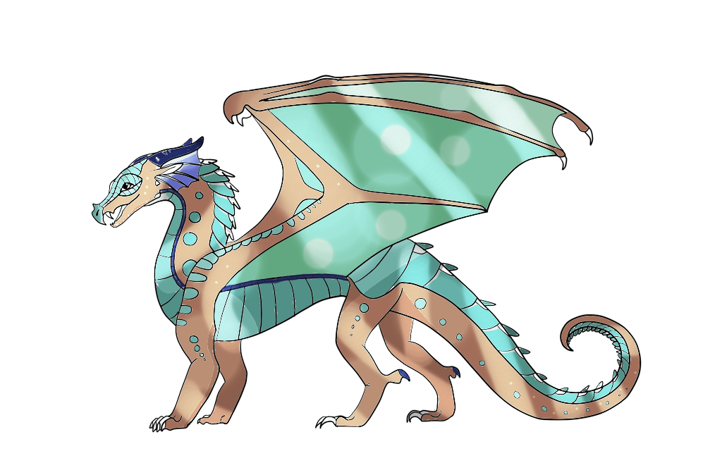 Rainwing-Mudwing Hybrid 1 (TAKENED) by SereneOblivion on DeviantArt