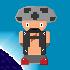 pixel art : Baron T. Toad by nikosgiginth