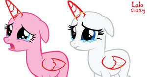 FIM Base: Sad_Rarity_and_Pinkie_Pie