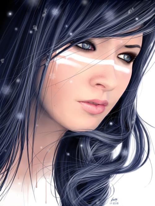 Frozen Beauty by BenF