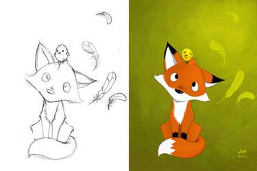 Fox steps
