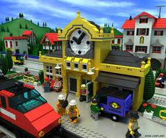 Lego, Clock1