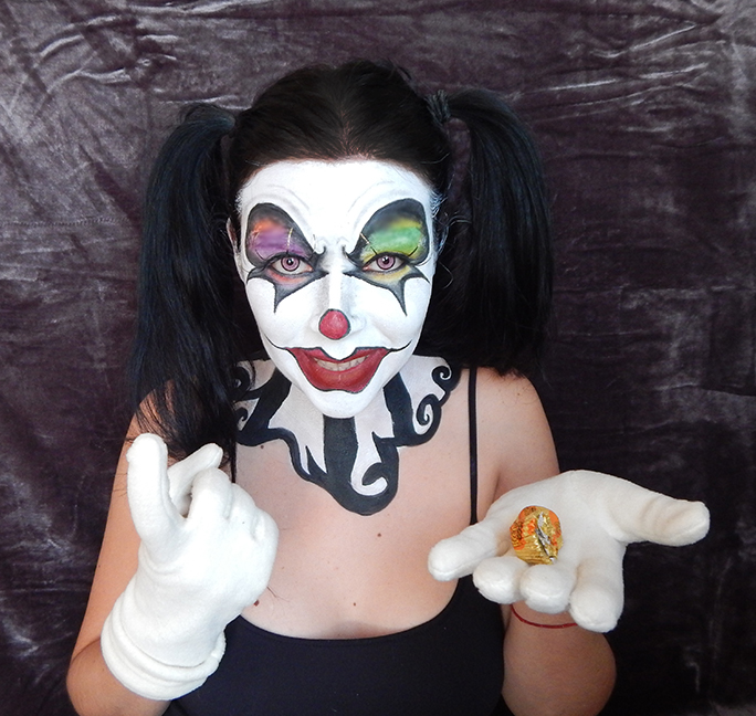 Evil Clown Makeup Pictures - Mugeek Vidalondon