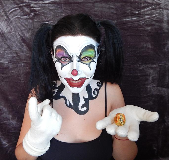 Evil Clowns Body Paint