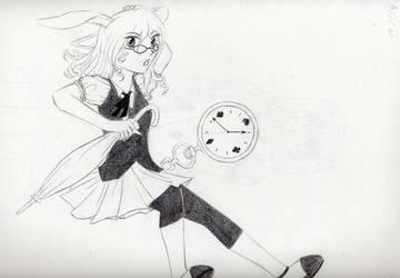 I'm late by Captain-Kiryu