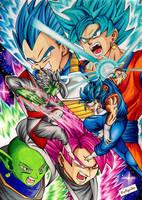 Vegetto vs Samazu - Dragon Ball Super by Artegavino