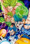 New Broly vs Gogeta Ssj Blue - Dragon Ball Super