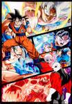 Goku Vs Jiren Battle Collage - Dragon Ball Super