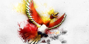 Ho-oh 3 by Aiko1001
